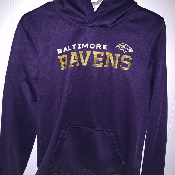 low priced a6c8b af5de BALTIMORE RAVENS NFL SHOP HOODIE